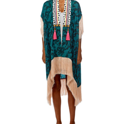 Turquoise Magic Boho Kaftan